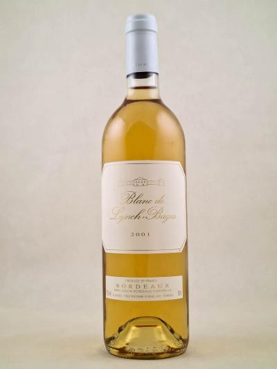 Blanc de Lynch Bages - Bordeaux 2001