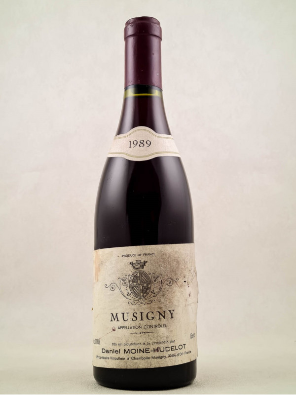 Moine Hudelot - Musigny 1989