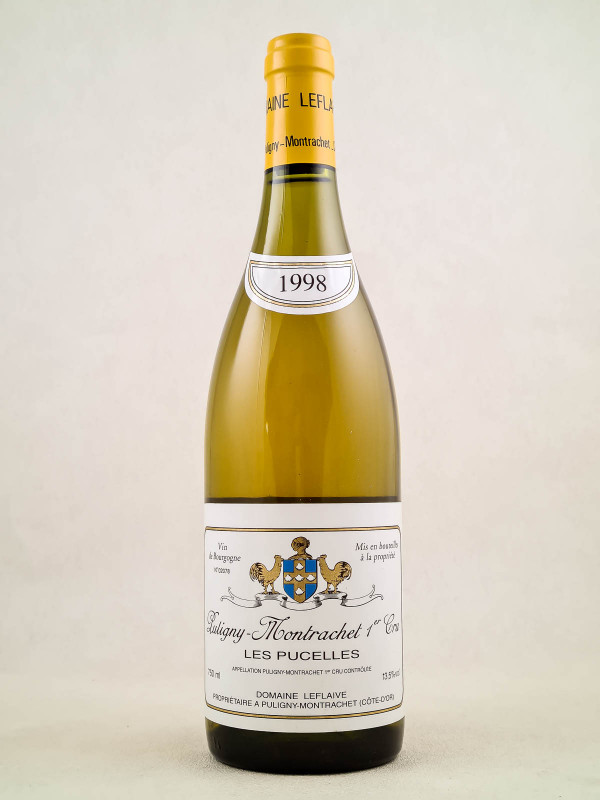 "Leflaive - Puligny Montrachet 1er cru ""Pucelles"" 1998"