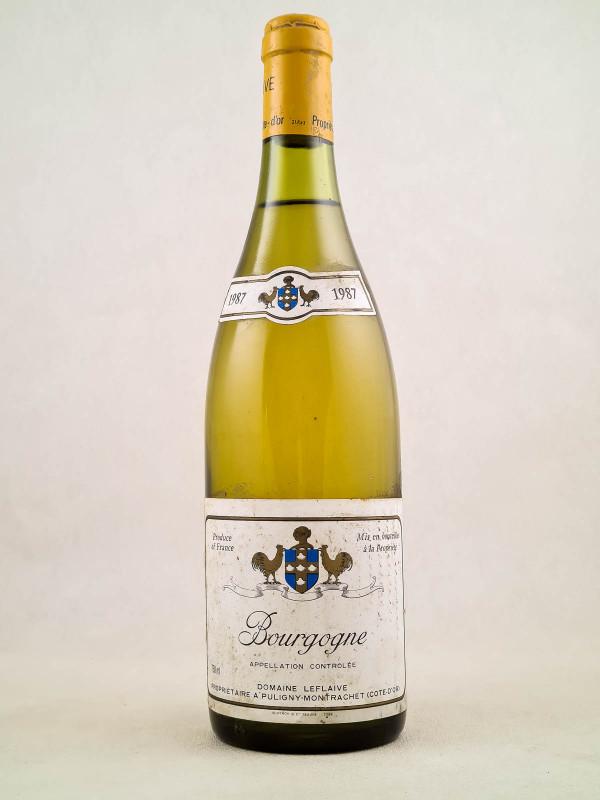 Leflaive - Bourgogne 1987