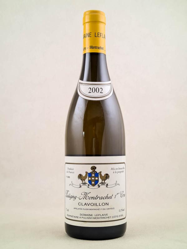 "Leflaive - Puligny Montrachet 1er cru ""Clavoillon"" 2002"