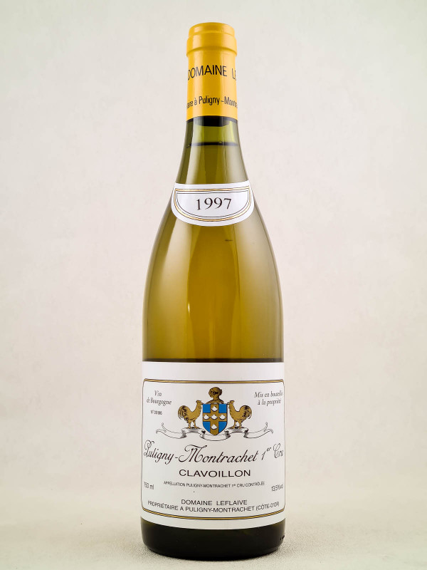 "Leflaive - Puligny Montrachet 1er cru ""Clavoillon"" 1997"