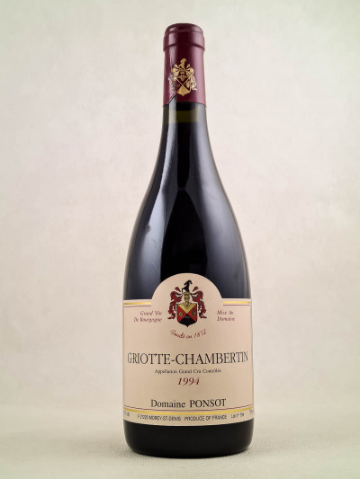 Ponsot - Griotte Chambertin 1994