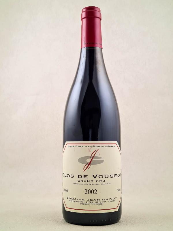 Jean Grivot - Clos Vougeot 2002
