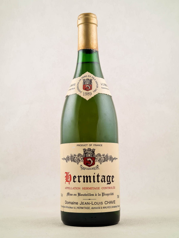 Jean Louis Chave - Hermitage Blanc 1989