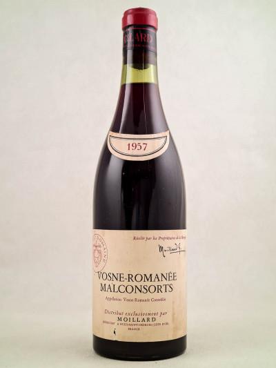 "Moillard - Vosne Romanée 1er cru ""Malconsorts"" 1957"