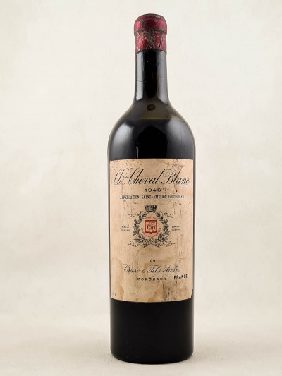 Cheval Blanc - Saint Emilion 1946 Mise Cruse