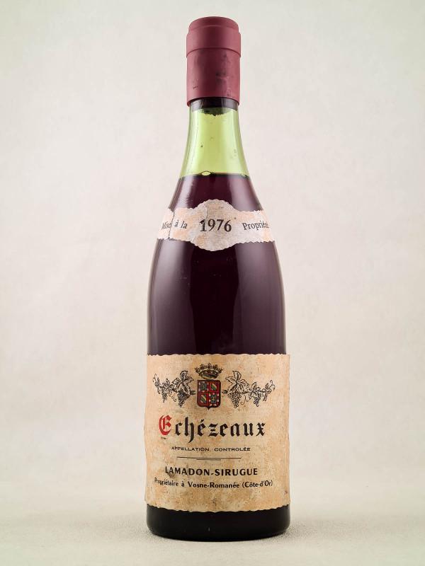 Lamadon Sirugue - Echezeaux 1976