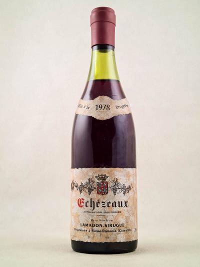 Lamadon Sirugue - Echezeaux 1978