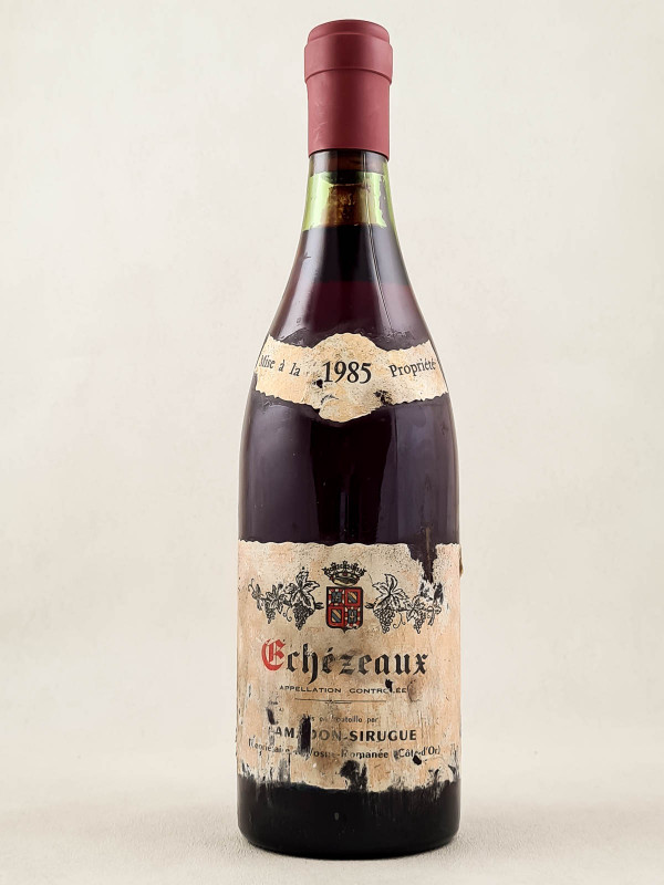 Lamadon Sirugue - Echezeaux 1985