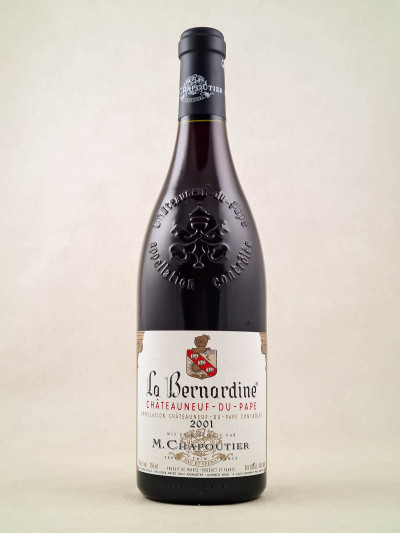 """Chapoutier - Châteauneuf du Pape """"La Bernardine"""" 2001"""