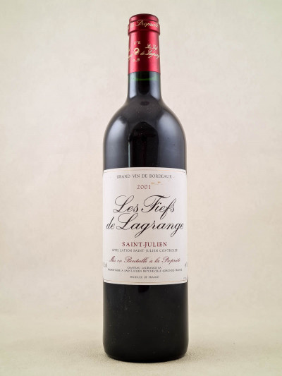 Fiefs de Lagrange - Saint Julien 2001