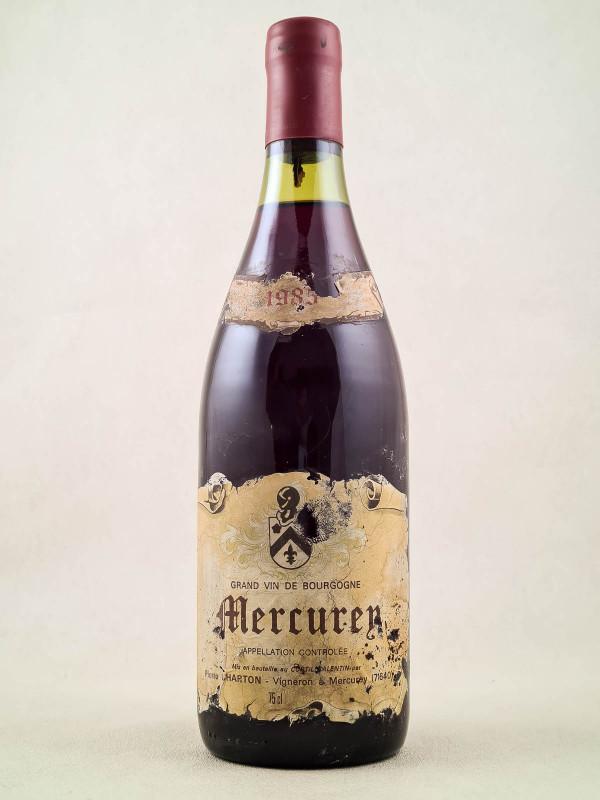 Pierre Charton - Mercurey 1985