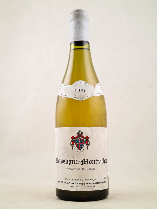 Paul Pillot - Chassagne Montrachet 1986