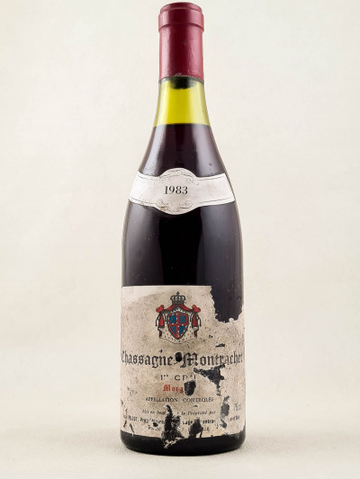"Paul Pillot - Chassagne Montrachet 1er cru ""Morgeot"" rouge 1983"