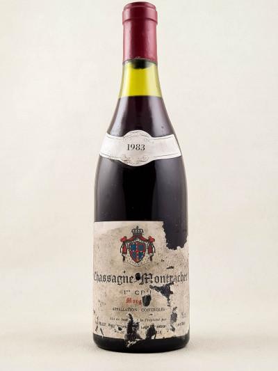 "Paul Pillot - Chassagne Montrachet 1er cru ""Morgeot"" rouge 1983"