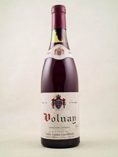 Carré Gagnepain - Volnay 1980