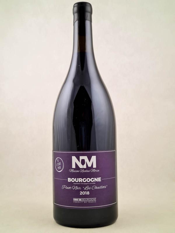 "Nicolas Morin - Bourgogne Pinot Noir ""Les Chaillots"" 2018 MAGNUM"