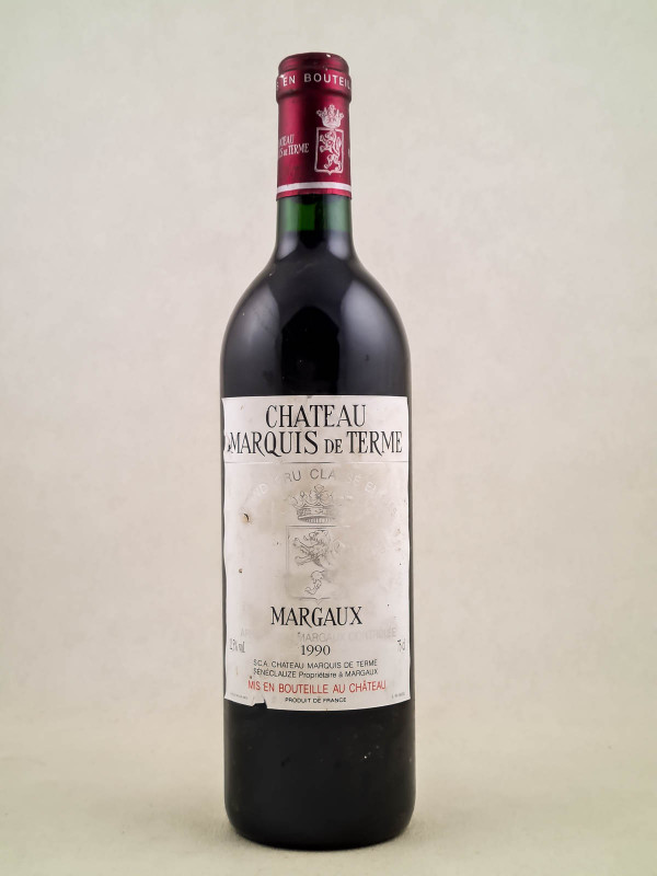 Château Marquis de Terme - Margaux 1990