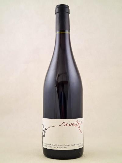 """François Dhumes - Vin de France """"Minette"""" 2018"""