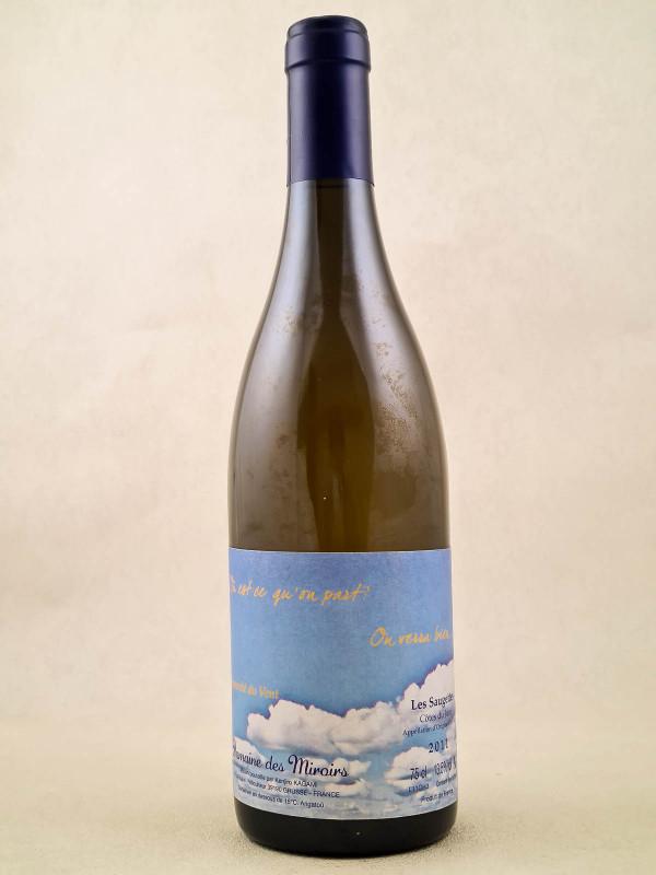 """Domaine des Miroirs K.Kagami - Vin de France Les Saugettes """"Où est-ce qu'on part ? On verra bien"""" 2011"""