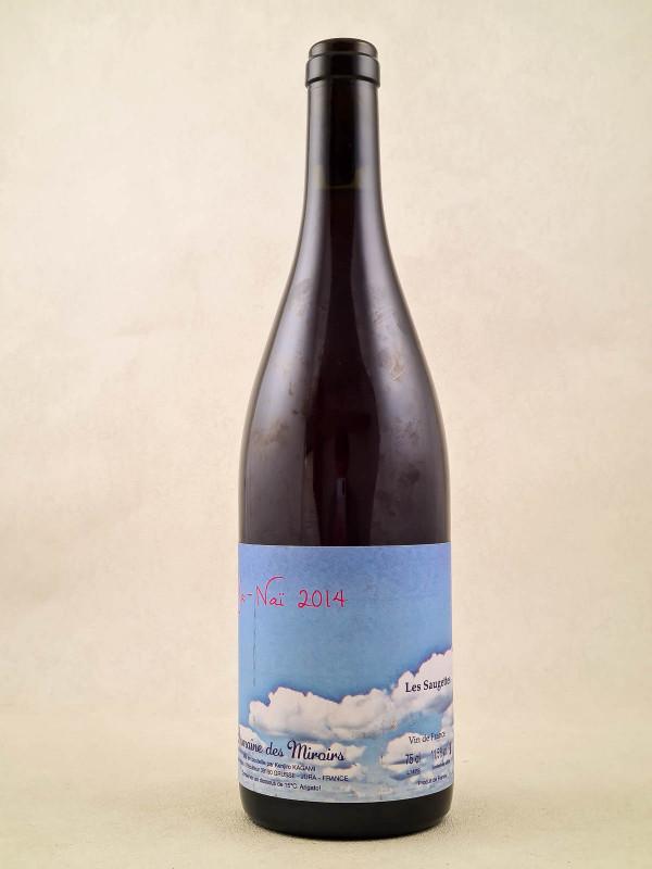 """Domaine des Miroirs K.Kagami - Vin de France Les Saugettes """"Ja-Naï"""" 2014"""