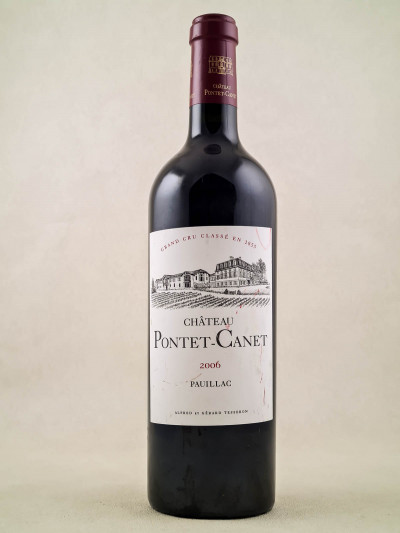 Pontet Canet - Pauillac 2006