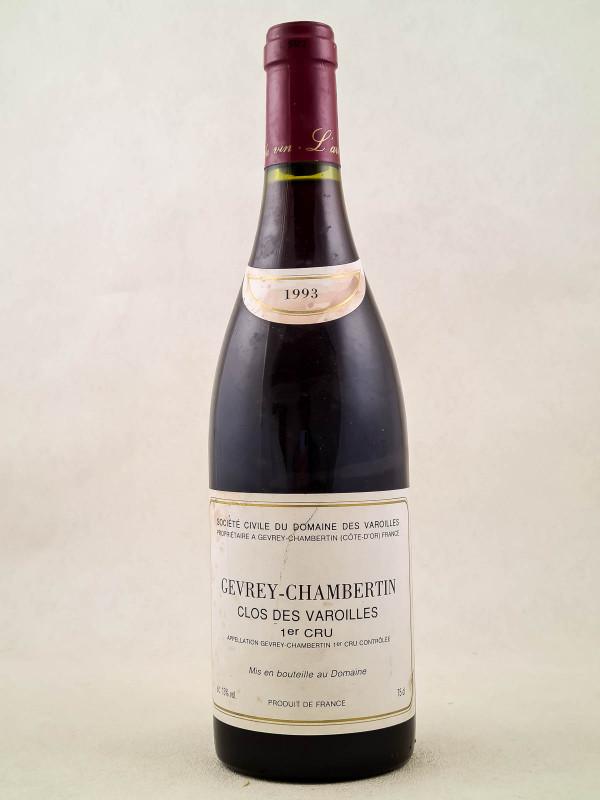 """Domaine des Varoilles - Gevrey-Chambertin 1er Cru """"Clos des Varoilles"""" 1993"""