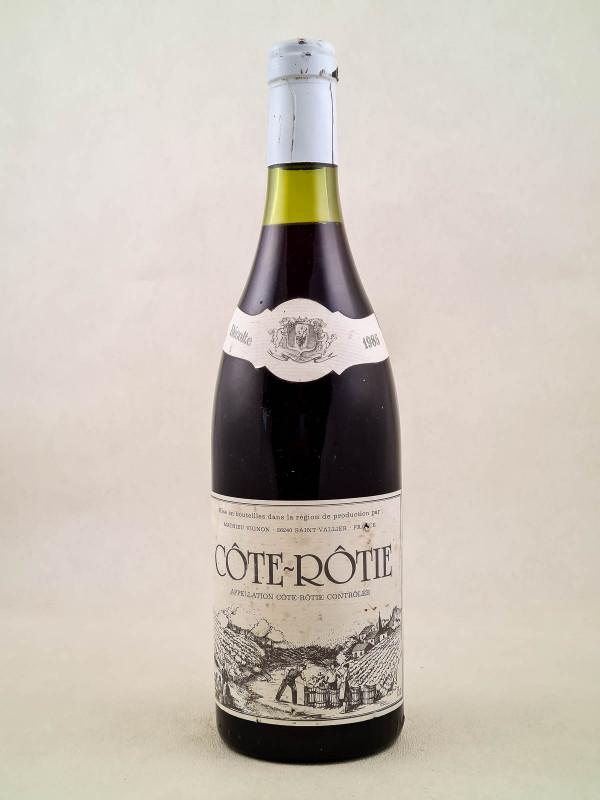 Mathieu Vignon - Côte Rôtie 1985