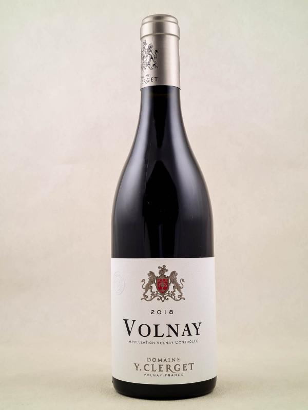 Yvon Clerget - Volnay 2018