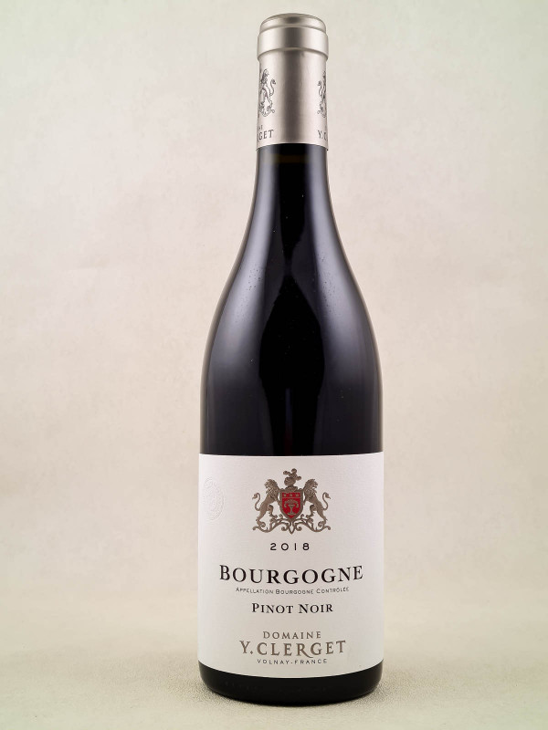 Yvon Clerget - Bourgogne Pinot Noir 2018