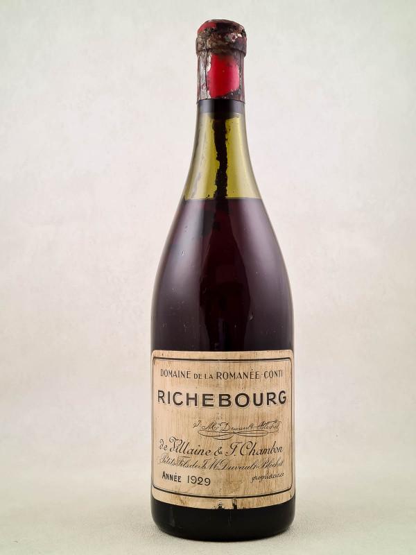 Romanée Conti - Richebourg 1929