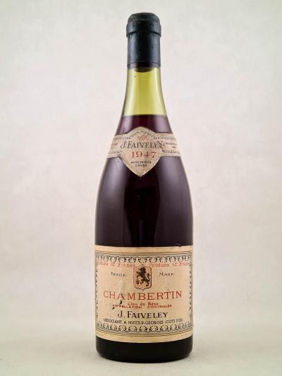 Faiveley - Chambertin Clos de Bèze 1947