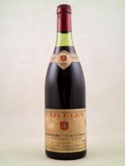 """Faiveley - Nuits Saint Georges 1er cru """"Clos de la Maréchale"""" 1979"""