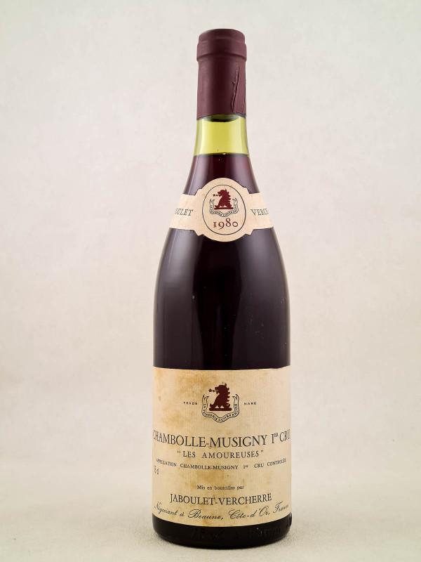 "Jaboulet Vercherre - Chambolle Musigny 1er cru ""Amoureuses"" 1980"