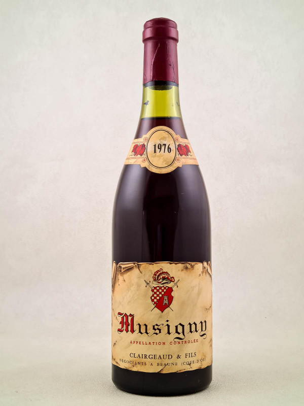 Clairgeaud - Musigny 1976