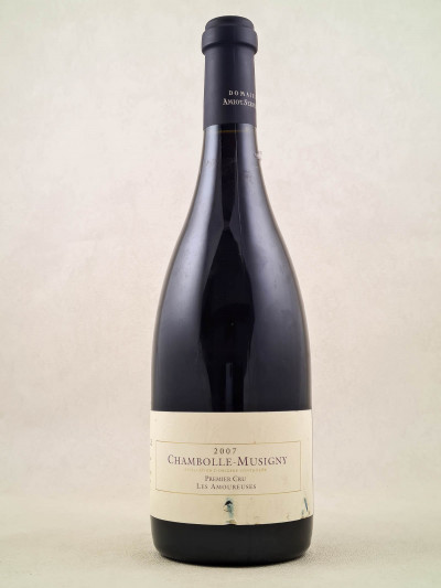 """Amiot Servelle - Chambolle Musigny 1er cru """"Les Amoureuses"""" 2007"""