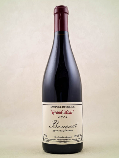 "Domaine du Bel Air - Bourgueil ""Grand-Mont"" 2015"