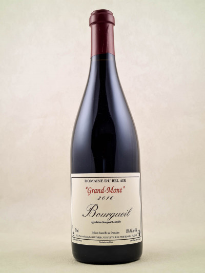 "Domaine du Bel Air - Bourgueil ""Grand-Mont"" 2016"