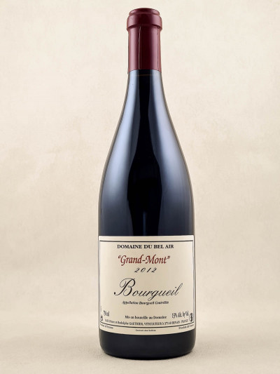 "Domaine du Bel Air - Bourgueil ""Grand-Mont"" 2012"