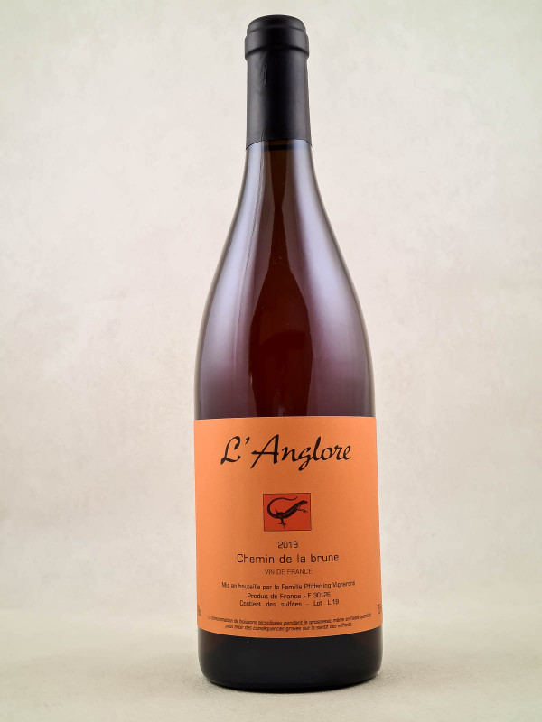 """L'Anglore - Vin de France """"Chemin de la Brune"""" 2019"""