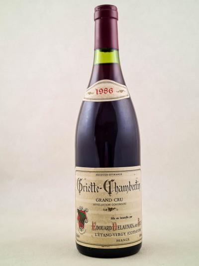 Edouard Delaunay - Griotte Chambertin 1986