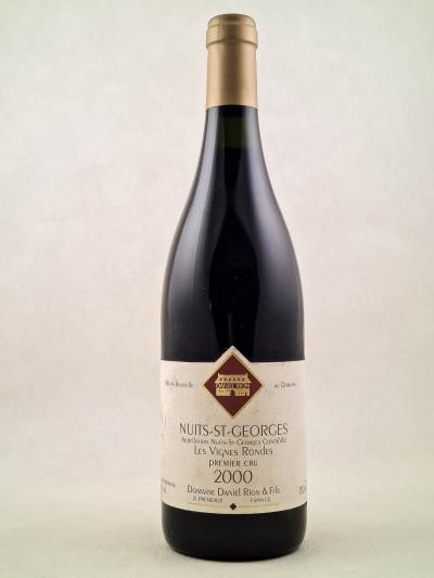 Daniel Rion - Nuits St Georges Les Vignes Rondes 1er cru 2000