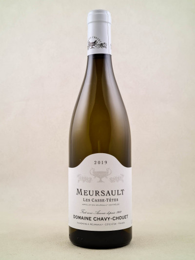 "Chavy Chouet - Meursault ""Casse Têtes"" 2019"