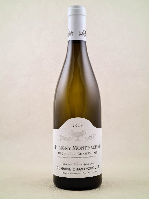 "Chavy Chouet - Puligny Montrachet 1er cru ""Champs Gain"" 2019"