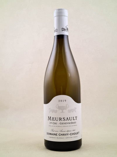 "Chavy Chouet - Meursault 1er cru ""Genevrières"" 2019"