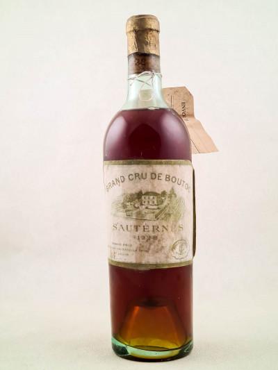 Boutoc - Sauternes 1928