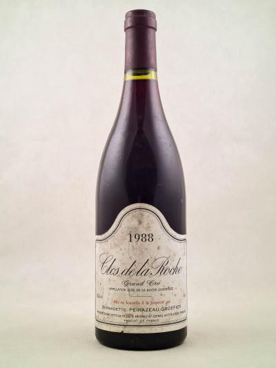 Peirazeau Groffier - Clos de la Roche 1988