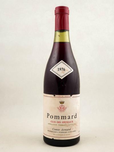 """Comte Armand - Pommard 1er cru """"Clos des Epeneaux"""" 1976"""