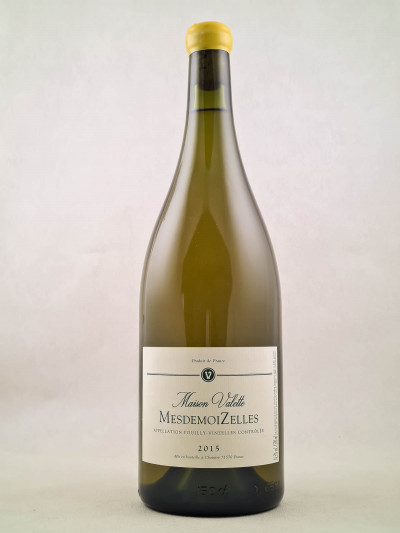 """Maison Valette - Pouilly-Vinzelles """"MesdemoiZelles"""" 2015 MAGNUM"""